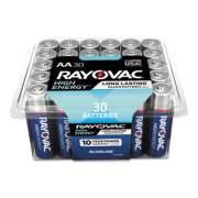 Rayovac Alkaline AA Batteries, 30/Pack (81530PPK)