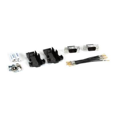 Black Box Hood Kit Two-headed Db9-male/male (FA806)