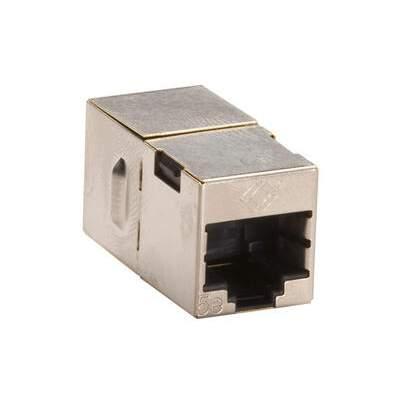 Black Box Cross-pin Coupler Cat5e Shielded Sl 10pk (FM568-R2-10PAK)