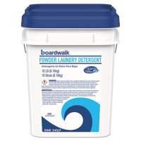 Boardwalk Laundry Detergent Powder, Crisp Clean Scent, 18  lb Pail (BWK340LP)