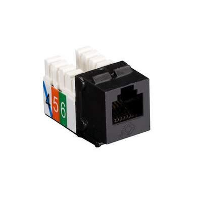 Black Box Telephone Jack - Rj11 Usoc Black 25-pack (FMT239-25PAK)