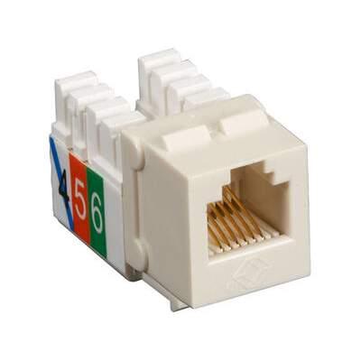 Black Box Telephone Jack - Rj11 Usoc Off Wh 25pk (FMT243-25PAK)
