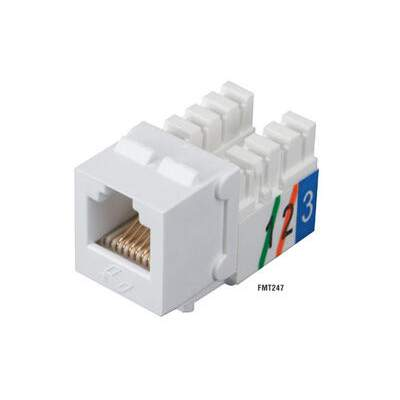 Black Box Telephone Jack - Rj11 Usoc White 25-pack (FMT247-25PAK)