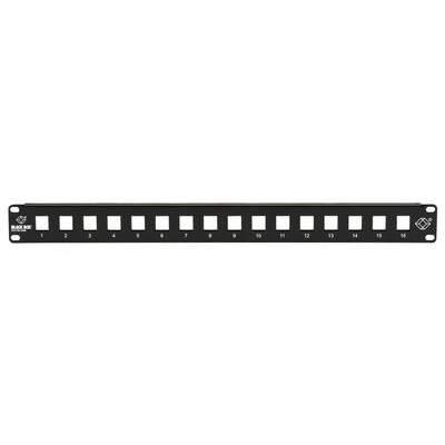 Black Box Patch Panel Multimedia 1u 16pt (JPMT1016A)