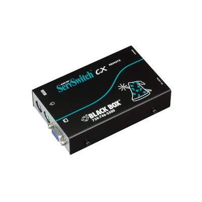 Black Box Kvm Ext Rx Over Catx Sh Vga Ps/2 Aud (KV04A-REM)
