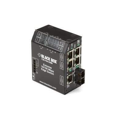 Black Box Extr Swt 5-10/100 Rj45 1-100 Sc 100-240v (LBH150AE-P-SC)