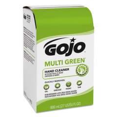 GOJO MULTI GREEN GEL HAND CLEANER WITH PUMICE, CITRUS, 800 ML BAG-IN-BOX DISPENSER REFILL (917212EA)