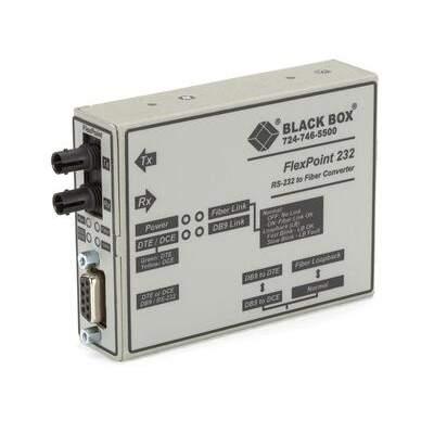 Black Box Async Rs232 Ext Fbr Db9 Female St Mm 5km (ME661A-MST)