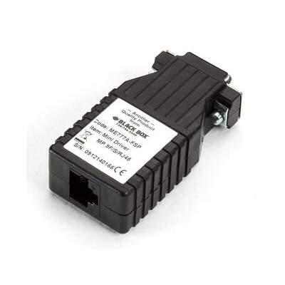 Black Box Async Rs232 Ext Catx Db9-m To Rj45 (ME777A-FSP)