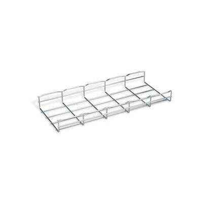 """Black Box Cable Tray Sect 2""""hx78""""lx8""""w Steel 4pk (RM714A)"""