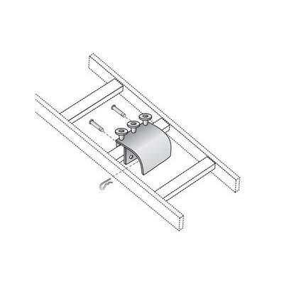 Black Box Ladder Rack Radius Drop Kit - Gray (RM866)