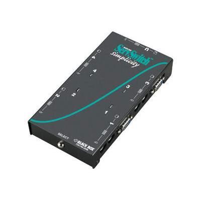 Black Box Kvm Swt - Sh, Vga, Ps/2, Dt, 4pt (SW612A)