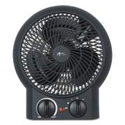 "Alera Heater Fan, 8 1/4"" x 4 3/8"" x 9 3/8"", Black (ALEHEFF10B)"