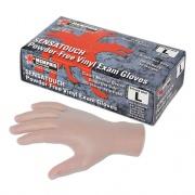MCR Safety Sensatouch Clear Vinyl Disposable Medical Grade Gloves, Medium, 100/BX, 10 BX/CT (5010MCT)