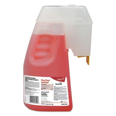 Diversey Final Step Sanitizer, Liquid, 2.5 L (100872499)