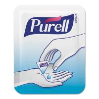 PURELL Single Use Advanced Gel Hand Sanitizer, 1.2 mL, Packet, Clear, 2,000/Carton (96202M)