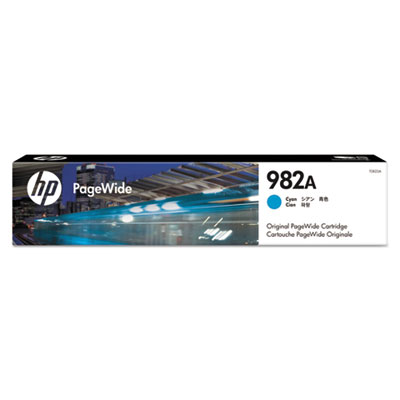 HP 982A Cyan Original PageWide Cartridge (T0B23A)