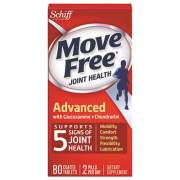 Move Free Advanced Joint Health Tablet, 80 Tablets (97009EA)