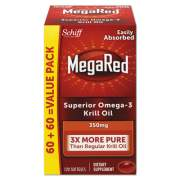 MegaRed Omega-3 Krill Oil Softgel, 120/Bottle (95330EA)
