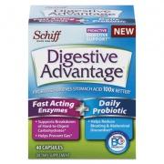 Digestive Advantage Fast Acting Enzyme plus Daily Probiotic Capsule, 40 Count (96949EA)