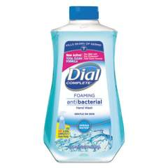 Dial Antibacterial Foaming Hand Wash, Spring Water Scent, 32 oz Bottle, 6/Carton (09027CT)