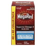 MegaRed Extra Strength Omega-3 Krill Oil Softgel, 80 Softgels (98093EA)