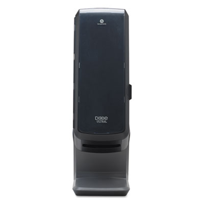 "Dixie Ultra Tower Napkin Dispenser, 25.31"" x 10.68"", Black (54550A)"