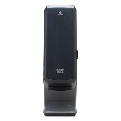 "Dixie Ultra Tower Napkin Dispenser, 25.31"" x 10.68"", Black (54550A)"