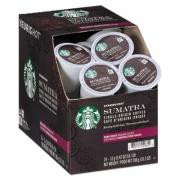Starbucks Sumatra Coffee K-Cups, Sumatran, K-Cup, 24/Box (11075822)