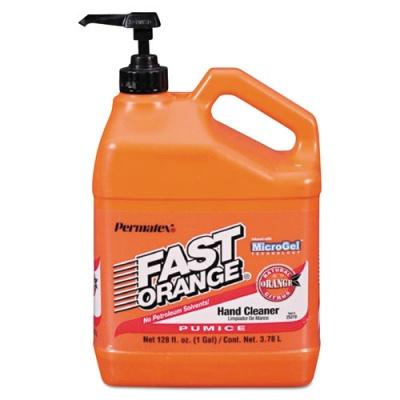 FAST ORANGE Pumice Hand Cleaner, Citrus Scent, 1 gal Dispenser (25219)