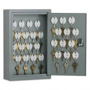 AbilityOne 7125011515435 SKILCRAFT Locking Key Cabinet, 30, 8w x 2 5/8d x 12 1/4h, Gray