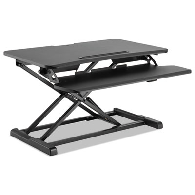 Alera AdaptivErgo Sit-Stand Workstation, 31.5w x 26.13d x 19.88h, Black (AEWR3B)