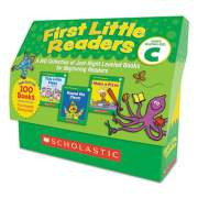 Scholastic First Little Readers, Reading, Grades Pre K-2, 8 Pages/Book, 20 Books, Level C (9780545223034)