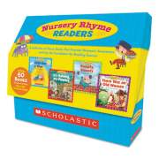 Scholastic Nursery Rhyme Readers, Phonics; Reading, Grades Pre K-1, 8 Pages/Book (9780545250207)