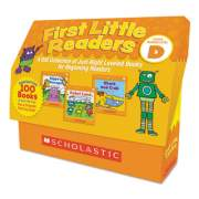 Scholastic First Little Readers, Reading, Grades Pre K-2, 8 Pages/Book, 5 Books, Level D (9781338111460)