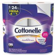 Cottonelle Ultra ComfortCare Toilet Paper, Septic Safe, 2-Ply, 284 Sheets/Roll, 6 Rolls/Pack, 36 Rolls/Carton (48611)