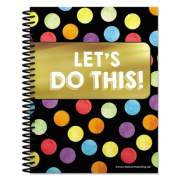 Carson-Dellosa Education Teacher Planners, Celebrate Learning Theme, 11 x 8.5, Black (105000)