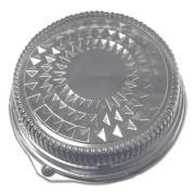 "Durable Packaging Dome Lids for 16"" Cater Trays, 16"" Diameter x 2.5""h, Clear, 50/Carton (16DL)"