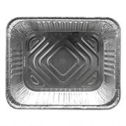 Durable Packaging Aluminum Steam Table Pans, Half Size, Deep, 100/Carton (FS4200XX)