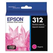 Epson T312320-S (312XL) Claria Ink, 360 Page-Yield, Magenta