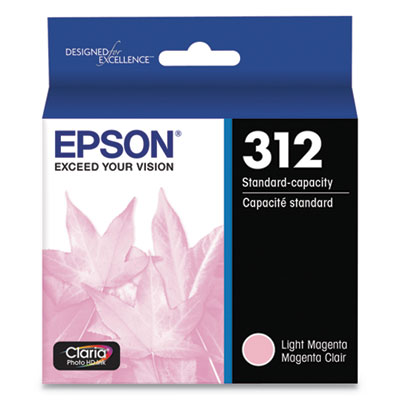 Epson T312620-S (312) Claria Ink, 360 Page-Yield, Magenta