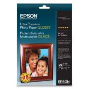 Epson ULTRA PREMIUM PHOTO PAPER GLOSSY, 5 X 7, GLOSSY WHITE, 20/PACK (S041945)