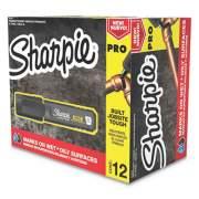 Sharpie Pro Permanent Marker, Broad XL Chisel Tip, Black, Dozen (2018344)