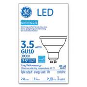 GE LED MR16 GU10 Dimmable Warm White Flood Light, 3000K, 3.7 W (37114)