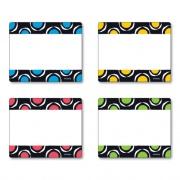TREND Terrific Labels, 2 1/2 x 3, 4 Assorted Designs, 36 Labels (T68901)