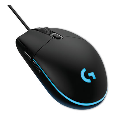 Logitech G203 Prodigy Gaming Mouse, USB 2.0, Right Hand Use, Black (910-004842)