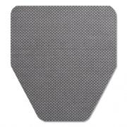 TOLCO Komodo Urinal Mat, 18 x 20, Gray, 6/Carton (220209)
