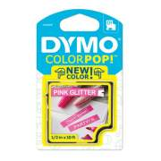 "DYMO COLORPOP! Label Maker Tape, 0.5"" x 10 ft, White on Pink (2056091)"
