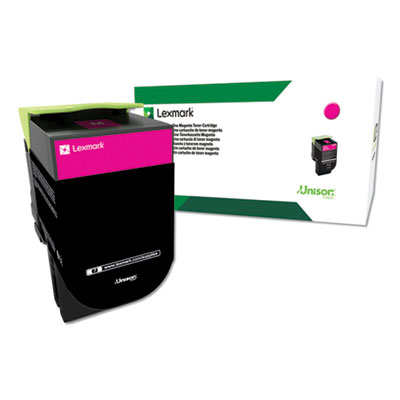 Lexmark C544X4MG (C544) Return Program Extra High-Yield Toner, Magenta