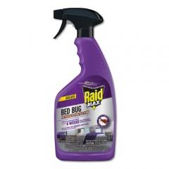 Raid Bed Bug and Flea Killer, 22 oz Bottle, 4/Carton (305735)